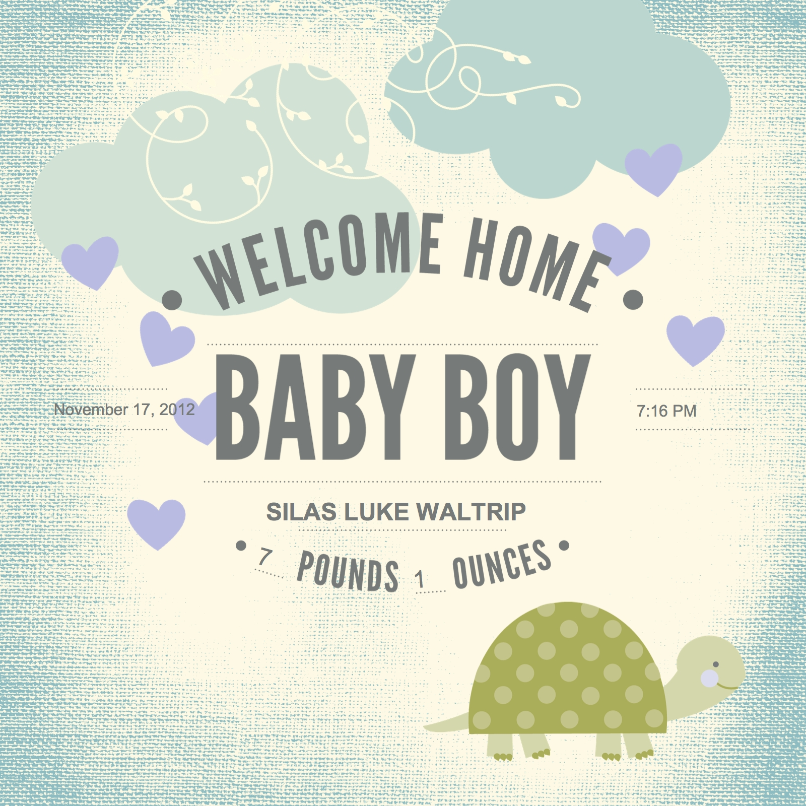 Baby Book Cover Template ~ Stampin up baby book fool page