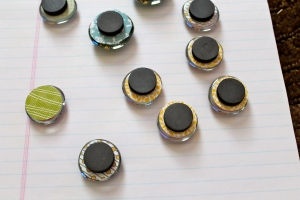glass pebble magnets @ StampinFool.com