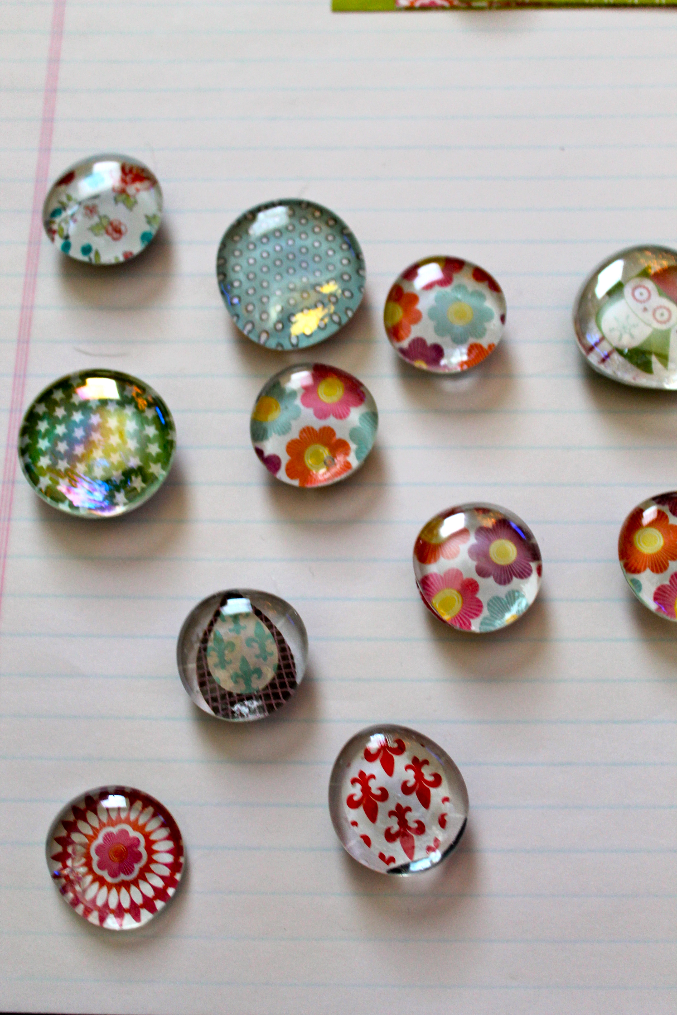 Glass Pebble Magnets How To Make Personalize Package Price Sell