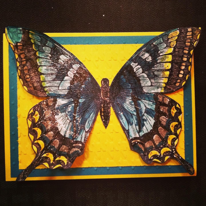 20130421: Stampin Up Swallowtail