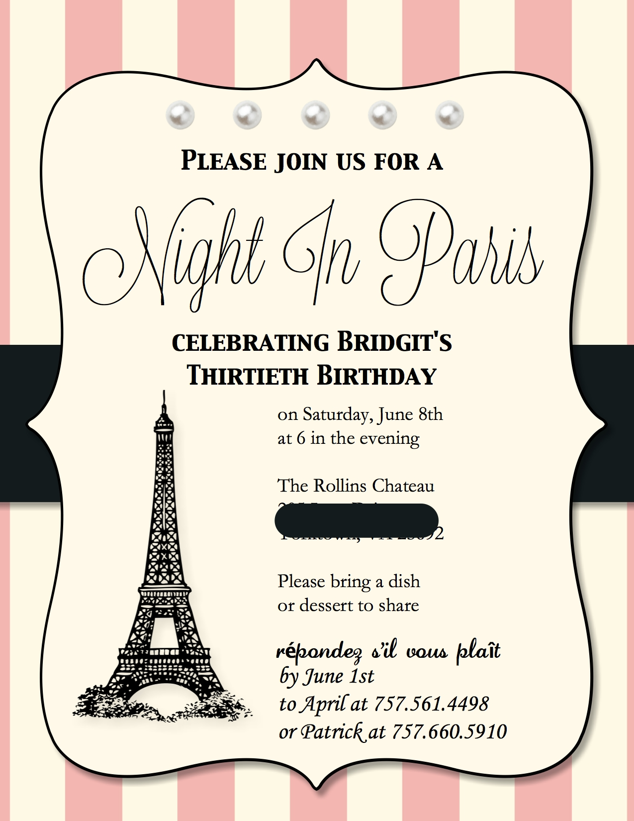 Paris Themed Birthday Invitations was very inspiring ideas you may choose for invitation ideas